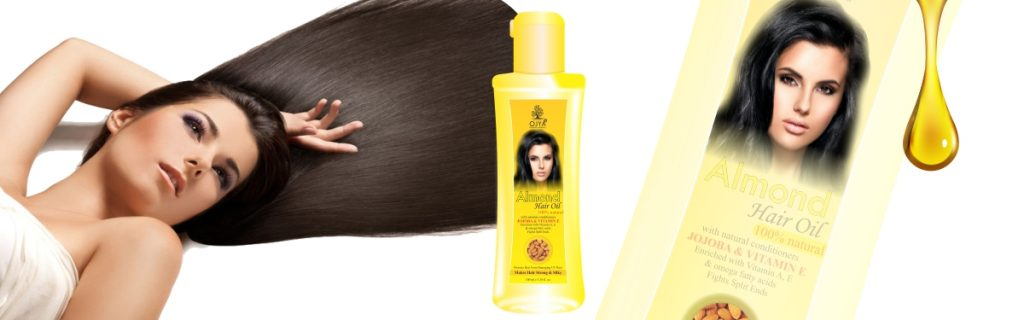 Almond Hair Oil manufacturer and exporter in India