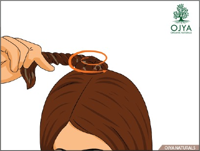 how to apply henna on hair step 7